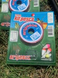 Kit Pesca linha de mão