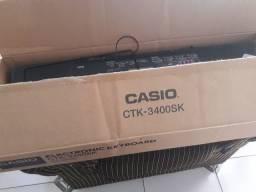 Teclado musical Casio ctk 3400