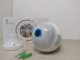 *Lâmpada Câmera Espiã VR CAM*