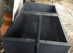 Carro plataforma de aço reforçado 500 kg NOVO