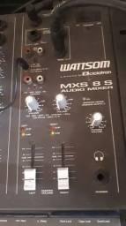 Mesa Mixer Wattsom Ciclotron Mxs 8s 8 Canais
