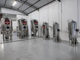 Cervejaria vapor 600 litros