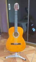 Violão Giannini Start + suporte para violão + capa bag luxo para violão