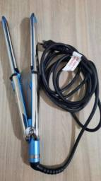 Babyliss Prancha Nano Titanium Pro Optima 3000 Profissional By Roger 110v-FAB Babyliss Pro