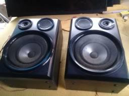 par de caixa de som mni sistem samsung g55td 20 w impe.4 onh