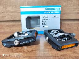 Pedal Shimano PD-T400 Na Caixa