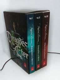 Box livros dragões de éter - 3 volumes