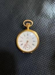 Relógio de bolso omega em ouro 18 k