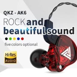 Qkz ak6 fone de ouvido para retorno de palco profissional Qkz