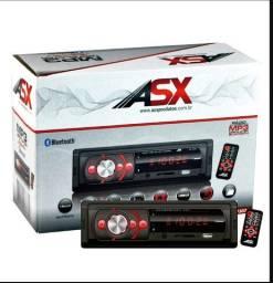 Som Automotivo Mp3 Usb Player Bluetooth Asx- Promoção