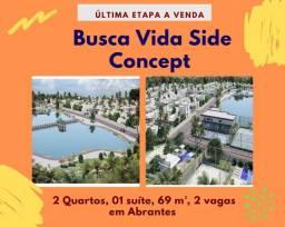 Venha visitar: Busca Vida Side Concept, 2 quartos, 69 m², atrás Shopping Busca Vida