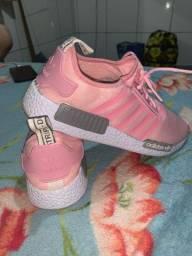 Tênis rosa 38 cinza 37