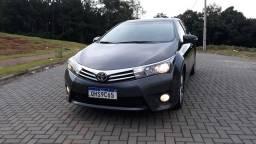 Corolla Xei 2.0 Ano 2017 Top de linha Baixo Km