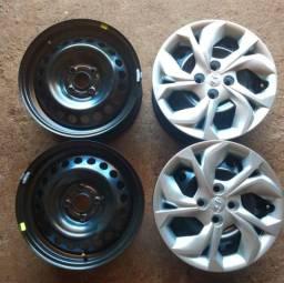 4 rodas novas aro 15, 4 pneus novos tudo zera *.