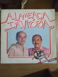 Disco de vinil (LP) A Lambada da Vitória - Gilberto e Garcia