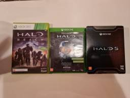 HALO 5 e MCC (Master Chief Collection) Xbox One e Series - Halo Reach Vendido