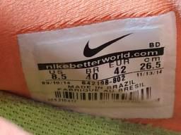 Tênis Nike Free 5.0 laranja - Número 40