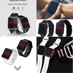 Novo lançamento casual Unissex Relógio Digital Esporte Bracelete Led