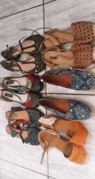 6 pares de sapato