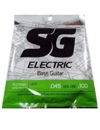 Encordoamento SG baixo de 4 cordas