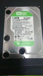 HD Western Digital WD Green 1T 64Mb de Cache
