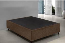 Base cama Box semi-nova - Speciale Colchões