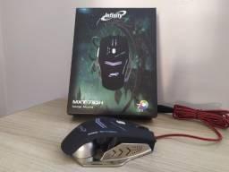 Mouse Gamer Alta Performance Infinity - Até 7000 Dpi