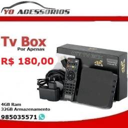 Tv Box MXq 4k 4GB Ram Entregamos