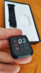Smartwatch P80 Relógio Inteligente + Pulseira Extra