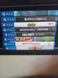 7 jogos de PS4 original