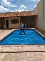Tela proteção  piscinas