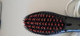 Escova alisadora Fast Hair Straightener-HQT-906- preta -Bivolt