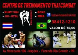 Aulas de Muay Thai e Boxe