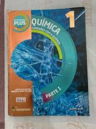 livros de Química do 1º ano - Ensino Médio, Editora Moderna