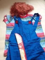 Fantasia Chucky completa ***Usada apenas 1 vez***