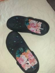 Sandalha tipo crooc