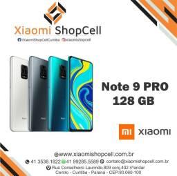 """Celular Xiaomi Note 9 Pro 128 gb e 6 Ram Novo e Lacrado """" Somos Loja Física """""""