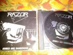 Cd Razor armed and dangerous importado