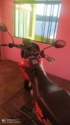 Bros 150 moto bala
