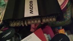Modulo stetsom 600w rms novo + caixa