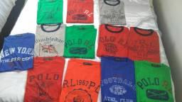 Camisetas algodão pima