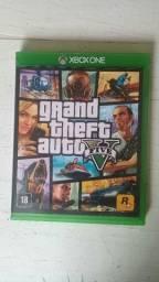 Xbox one com 1 controle e dois jogos