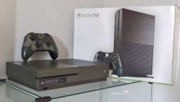 Xbox One S 4K 1TB Verde Militar / Troco / Parcelo