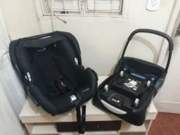 Bebê conforto mais base Safety one mais carrinho