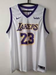 Título do anúncio: Regata NBA Lakers Branca