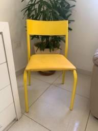 Cadeira amarela tok stok