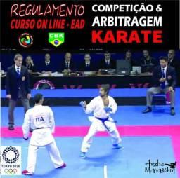 Curso de regulamento e arbitragem do karate olímpico wkf