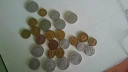 26 moedas antigas