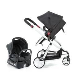 Carrinho De Bebê Safety 1st Mobi Travel System Branco