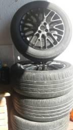 Vendo jogo dê rodas perfurações 4x98